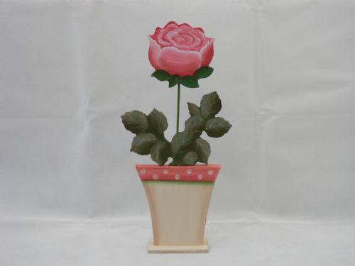 Pink Rose Pot - Large